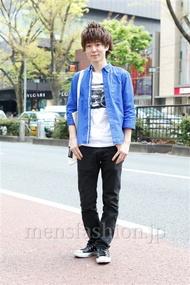 ファッションコーディネート原宿・表参道 2013年04月 渡部龍樹さん