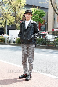 ファッションコーディネート原宿・表参道 2013年04月 小林秀行さん