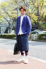 ファッションコーディネート原宿・表参道 2013年04月 小堀レオナルド竜太さん