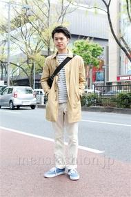 ファッションコーディネート原宿・表参道 2013年04月 青山清志さん