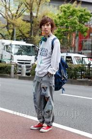 ファッションコーディネート原宿・表参道 2013年04月 浦辻大奨さん