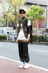 ファッションコーディネート原宿・表参道 2013年04月 くろさん