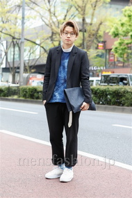 ファッションコーディネート原宿・表参道 2013年04月 石井俊伍さん