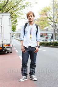 ファッションコーディネート原宿・表参道 2013年04月 川原一高さん