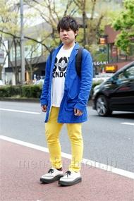 ファッションコーディネート原宿・表参道 2013年04月 KENZOさん