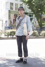ファッションコーディネート原宿・表参道 2013年05月 宮下佳佑さん