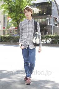 ファッションコーディネート原宿・表参道 2013年05月 日野達也さん