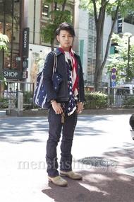 ファッションコーディネート原宿・表参道 2013年05月 小林綾太さん