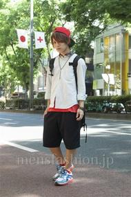 ファッションコーディネート原宿・表参道 2013年05月 夏川登志郎さん