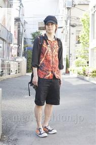 ファッションコーディネート原宿・表参道 2013年05月 新田快広さん