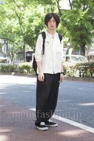 ファッションコーディネート原宿・表参道 2013年05月 松金祐大さん