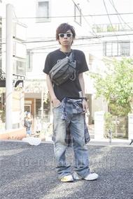 ファッションコーディネート原宿・表参道 2013年05月 青木健真さん