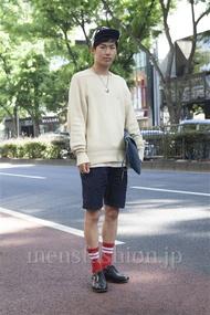 ファッションコーディネート原宿・表参道 2013年05月 笹崎高志さん