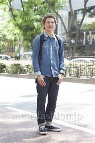 ファッションコーディネート原宿・表参道 2013年05月 ワタベショウマさん