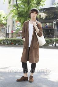 ファッションコーディネート原宿・表参道 2013年05月 濱田裕平さん