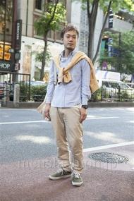 ファッションコーディネート原宿・表参道 2013年05月 川原一高さん