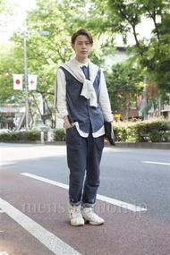 ファッションコーディネート原宿・表参道 2013年05月 伏貫 諒さん