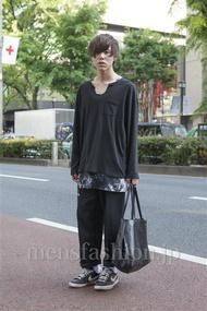 ファッションコーディネート原宿・表参道 2013年05月 原田浩一さん