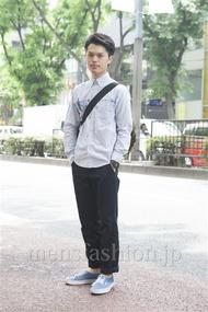 ファッションコーディネート原宿・表参道 2013年05月 青山清志さん