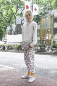ファッションコーディネート原宿・表参道 2013年05月 北向達也さん