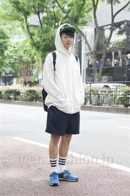 ファッションコーディネート原宿・表参道 2013年05月 茄子川 建さん