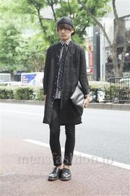 ファッションコーディネート原宿・表参道 2013年05月 上野晃宏さん
