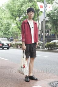 ファッションコーディネート原宿・表参道 2013年05月 いしずかたくやさん