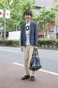 ファッションコーディネート原宿・表参道 2013年05月 岩橋康太さん
