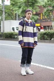 ファッションコーディネート原宿・表参道 2013年05月 石井俊伍さん