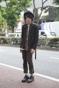 ファッションコーディネート原宿・表参道 2013年05月 勝田俊介さん