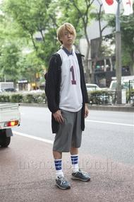 ファッションコーディネート原宿・表参道 2013年05月 洸希さん