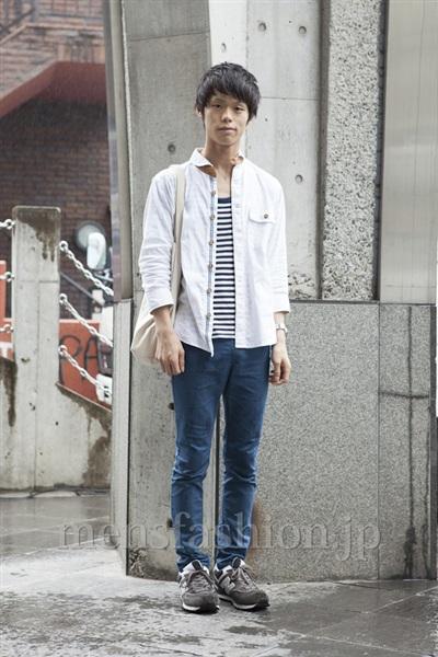ファッションコーディネート原宿・表参道 2013年06月 五味純一さん