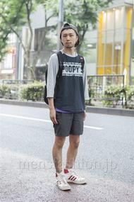 ファッションコーディネート原宿・表参道 2013年06月 中川淳也さん