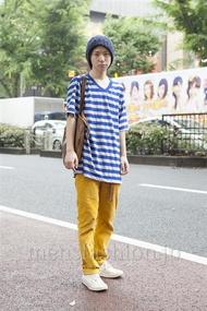 ファッションコーディネート原宿・表参道 2013年06月 内田 遼さん
