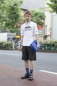 ファッションコーディネート原宿・表参道 2013年06月 浜本忠勝さん