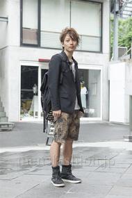ファッションコーディネート原宿・表参道 2013年06月 新田快広さん