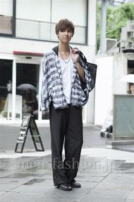 ファッションコーディネート原宿・表参道 2013年06月 飯島彰彦さん