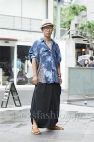 ファッションコーディネート原宿・表参道 2013年06月 シュンスケさん