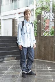 ファッションコーディネート原宿・表参道 2013年06月 川原一高さん