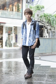 ファッションコーディネート原宿・表参道 2013年06月 大野ヨウさん