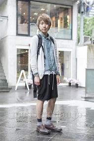 ファッションコーディネート原宿・表参道 2013年06月 宮下佳佑さん
