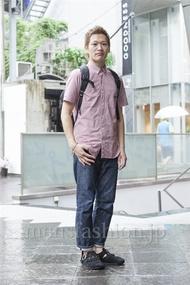 ファッションコーディネート原宿・表参道 2013年06月 ワタベショウマさん
