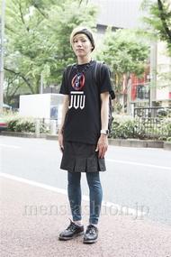 ファッションコーディネート原宿・表参道 2013年06月 鈴木誠希さん