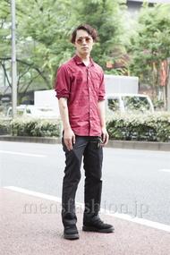 ファッションコーディネート原宿・表参道 2013年06月 中澤卓也さん