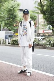 ファッションコーディネート原宿・表参道 2013年06月 北向達也さん