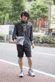 ファッションコーディネート原宿・表参道 2013年06月 夏川登志郎さん