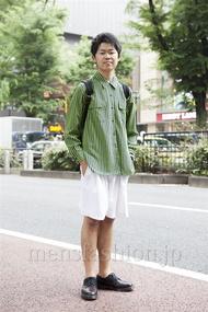 ファッションコーディネート原宿・表参道 2013年06月 下島蒼一朗さん