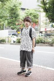 ファッションコーディネート原宿・表参道 2013年06月 KENZOさん