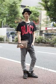 ファッションコーディネート原宿・表参道 2013年06月 コウセイさん