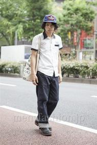 ファッションコーディネート原宿・表参道 2013年06月 高木進之介さん